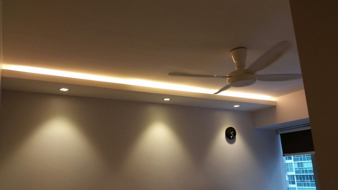 Residential portfolio - Lights used in false ceiling ...