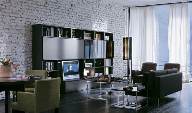 ... Living Room And Bedroom. Feature Wall Singapore Part 97