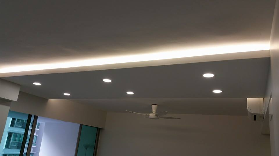 ideas for mobile home ceiling - Plasterboard Gypsum Board & False Ceiling Singapore